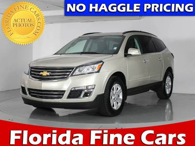 Used CHEVROLET TRAVERSE 2017 WEST PALM 1LT