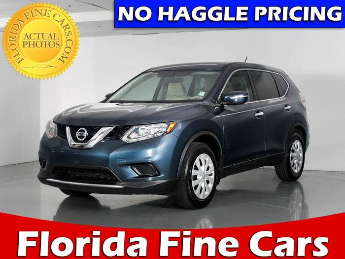 Used NISSAN ROGUE 2014 WEST PALM S
