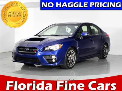 Used SUBARU WRX STI 2016 WEST PALM LIMITED