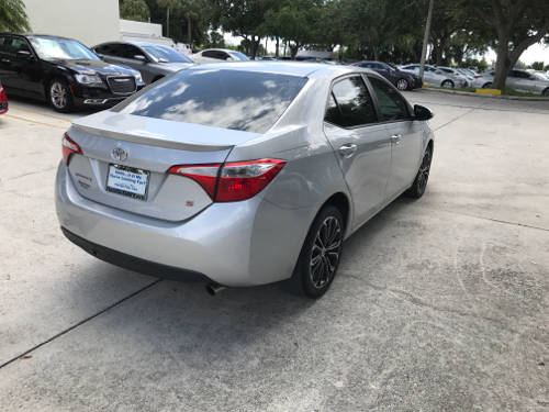 Used TOYOTA COROLLA 2014 WEST PALM S PLUS