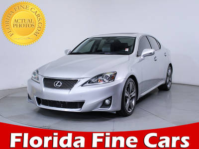 Used LEXUS IS 250 2013 MIAMI