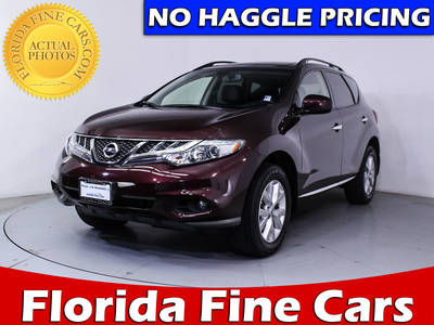 Used NISSAN MURANO 2014 HOLLYWOOD Sl Awd