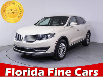 Used LINCOLN MKX 2016 MIAMI SELECT