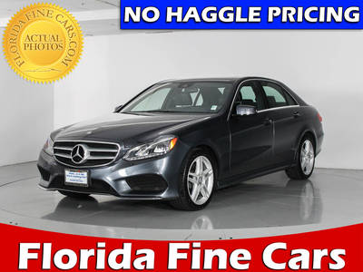Used MERCEDES-BENZ E CLASS 2014 WEST PALM E350 4MATIC SPORT