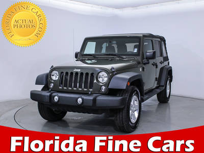 Used JEEP WRANGLER UNLIMITED 2015 HOLLYWOOD SPORT