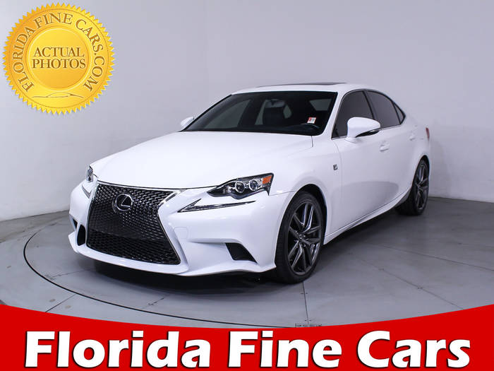 Used LEXUS IS 350 2016 MIAMI F Sport
