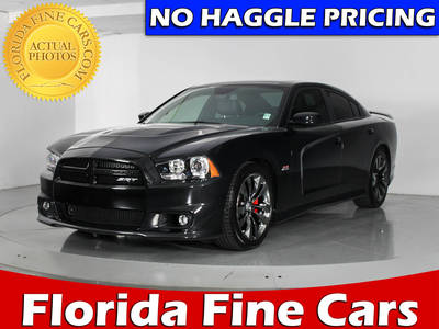 Used DODGE CHARGER 2014 WEST PALM SRT-8