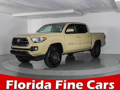 Used TOYOTA TACOMA 2017 WEST PALM SR5