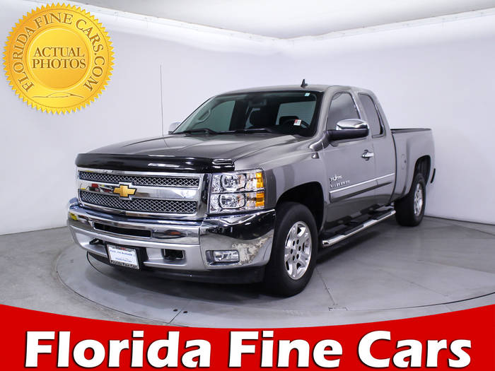 Used CHEVROLET SILVERADO 2013 MIAMI LT