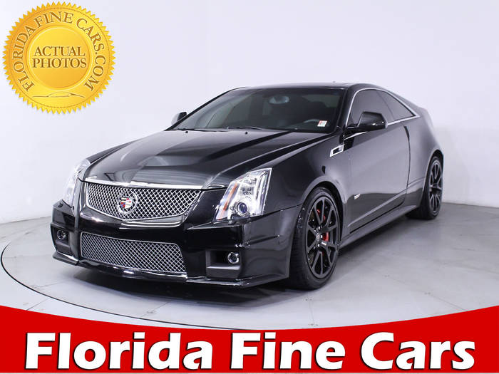 Used CADILLAC CTS V 2013 WEST PALM