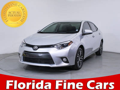 Used TOYOTA COROLLA 2016 HOLLYWOOD Le Plus