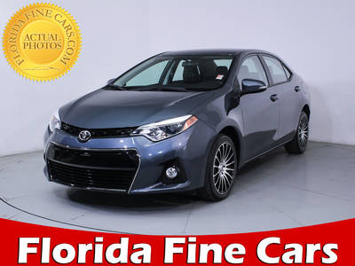 Used TOYOTA COROLLA 2016 MIAMI S PLUS