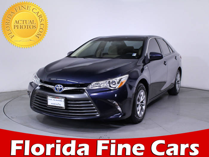 Used TOYOTA CAMRY 2015 WEST PALM Le Hybrid