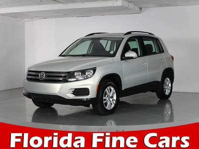 Used VOLKSWAGEN TIGUAN 2015 WEST PALM SE