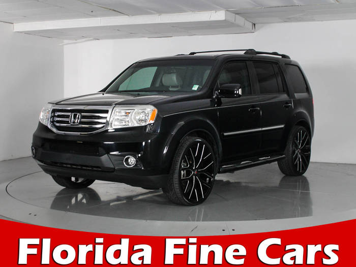 Used HONDA PILOT 2014 WEST PALM TOURING-RES
