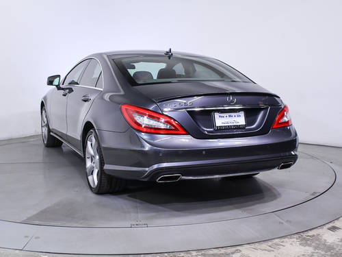 Used MERCEDES-BENZ CLS CLASS 2014 HOLLYWOOD CLS550