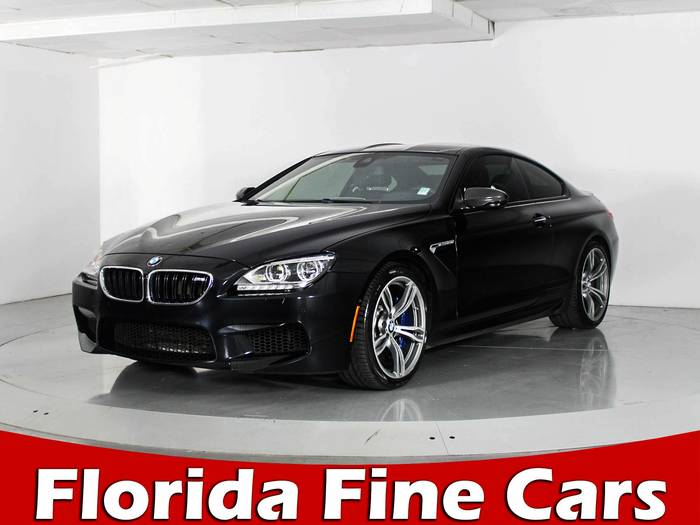 Used BMW M6 2014 WEST PALM Executive Pkg