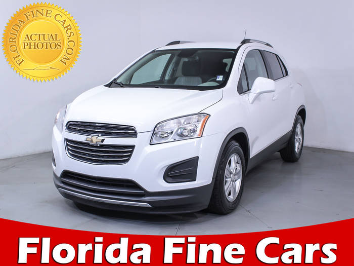 Used CHEVROLET TRAX 2016 HOLLYWOOD 1LT