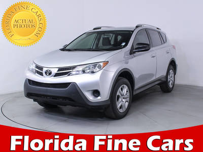 Used TOYOTA RAV4 2015 HOLLYWOOD LE