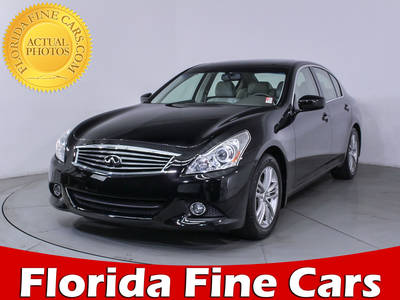 Used INFINITI G37 2013 MIAMI Journey
