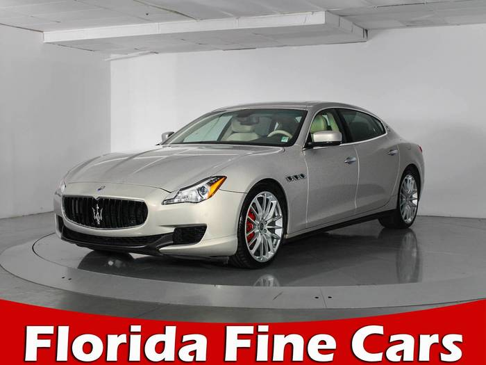 Used MASERATI QUATTROPORTE 2014 WEST PALM S Q4
