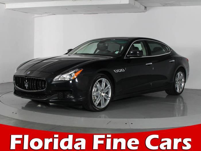 Used MASERATI QUATTROPORTE 2014 WEST PALM GT S