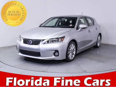 Used LEXUS CT 200H 2013 MIAMI Hybrid
