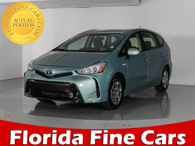 Used TOYOTA PRIUS V 2015 WEST PALM Two