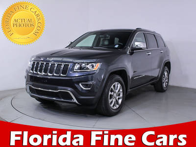 Used JEEP GRAND CHEROKEE 2016 HOLLYWOOD LIMITED