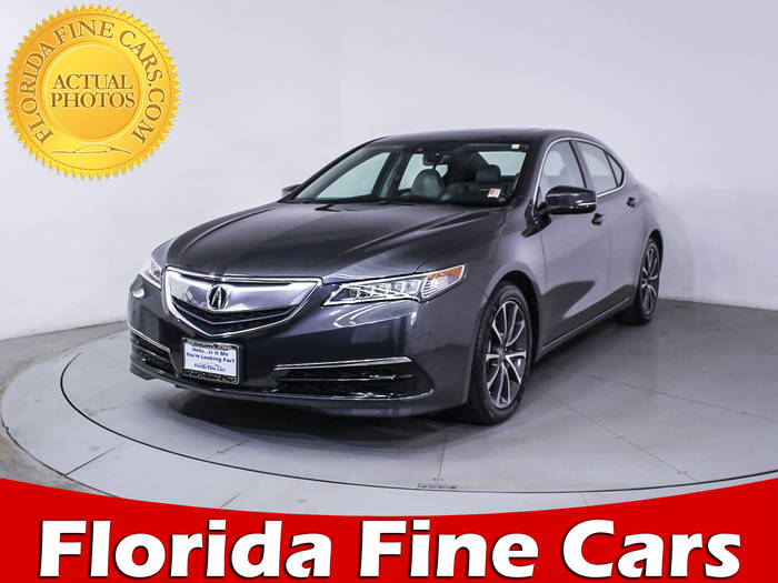 Used ACURA TLX 2015 HOLLYWOOD TECHNOLOGY PACKAGE