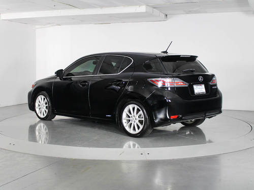 Used LEXUS CT 200H 2013 WEST PALM