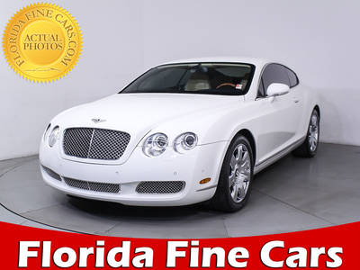 Used BENTLEY CONTINENTAL 2006 MIAMI GT