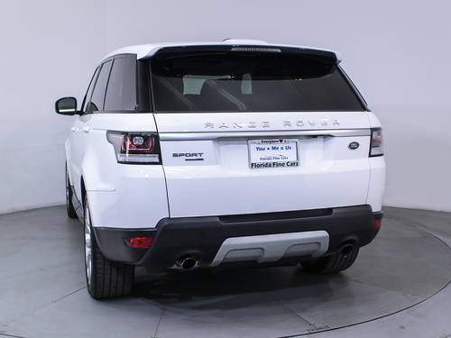Used LAND ROVER RANGE ROVER SPORT 2014 MIAMI SUPERCHARGED