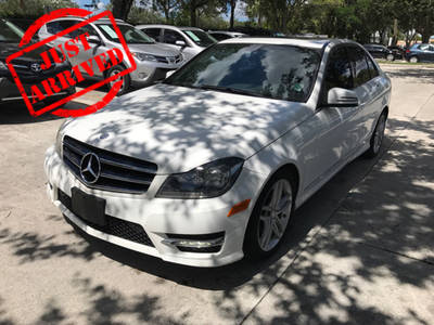 Used MERCEDES-BENZ C CLASS 2014 WEST PALM C300 4MATIC