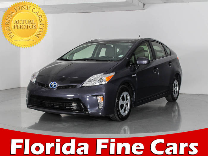 Used TOYOTA PRIUS 2015 WEST PALM Two