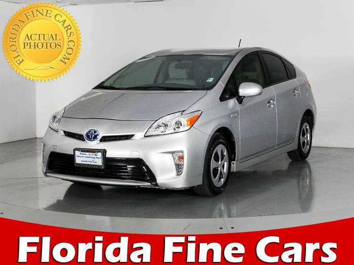 Used TOYOTA PRIUS 2014 WEST PALM Three