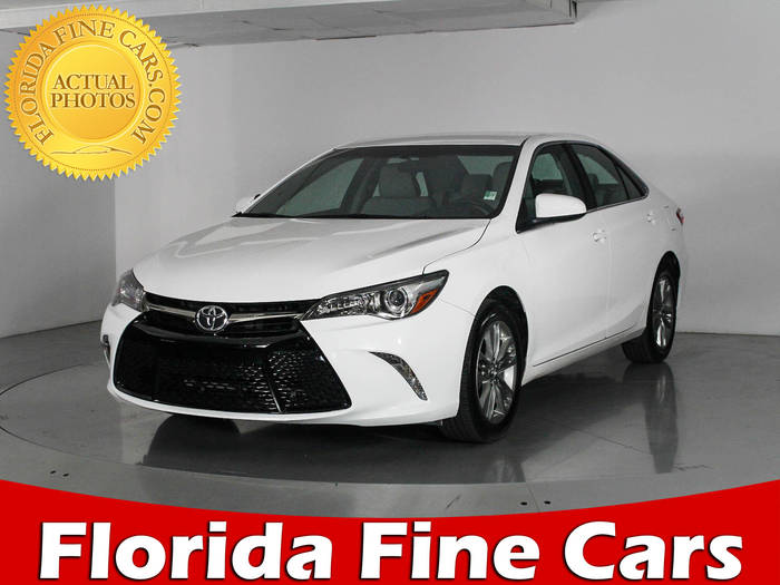 Used TOYOTA CAMRY 2016 WEST PALM Se