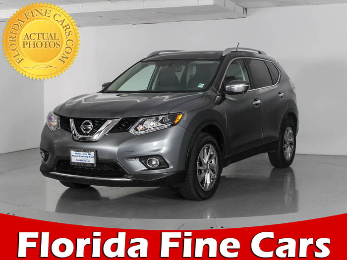 Used NISSAN ROGUE 2015 WEST PALM SL AWD