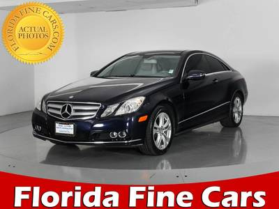 Used MERCEDES-BENZ E CLASS 2010 WEST PALM E350