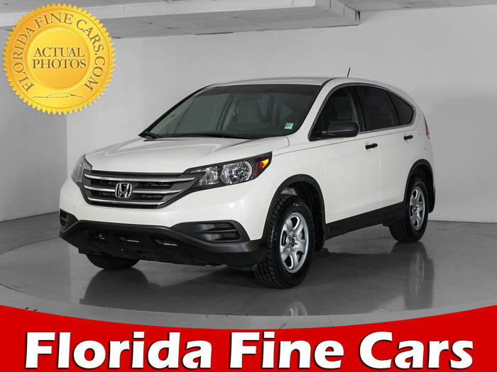 Used HONDA CR V 2014 WEST PALM LX