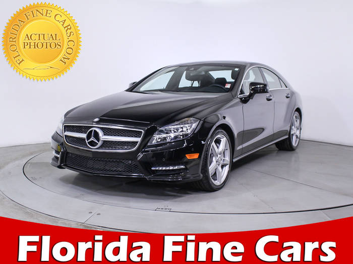 Used MERCEDES-BENZ CLS CLASS 2014 MIAMI CLS550