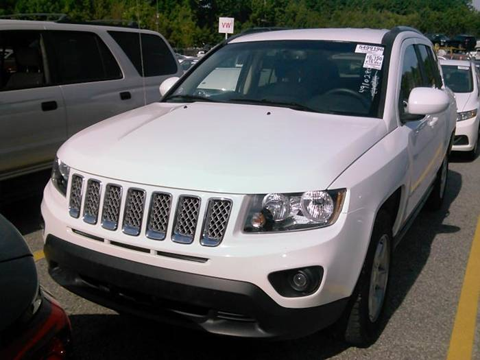 Used JEEP COMPASS 2017 MIAMI LATITUDE