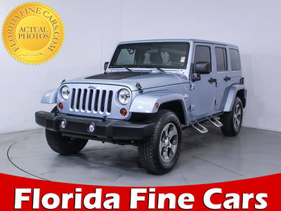 Used JEEP WRANGLER UNLIMITED 2012 MIAMI Sahara Artic Edition
