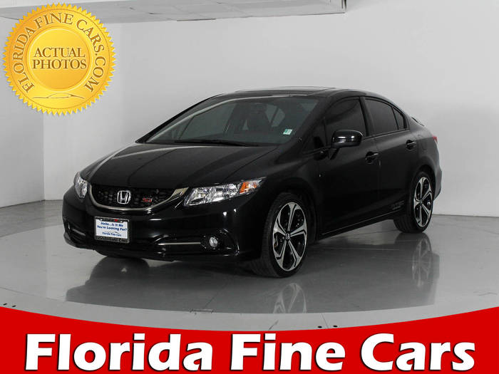 Used HONDA CIVIC 2015 WEST PALM SI