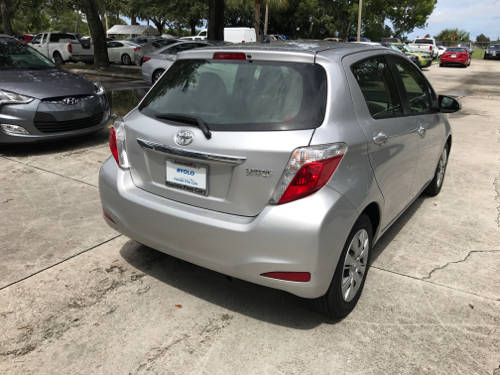 Used TOYOTA YARIS 2014 WEST PALM L