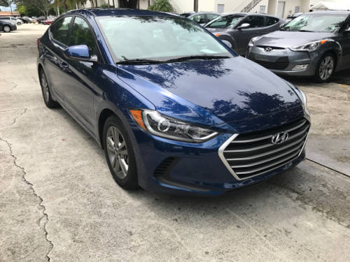 Used HYUNDAI ELANTRA 2017 WEST PALM LIMITED