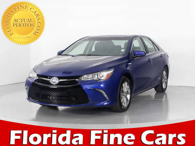 Used TOYOTA CAMRY 2015 WEST PALM SE HYBRID
