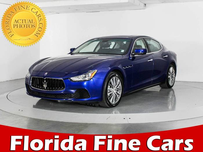 Used MASERATI GHIBLI 2016 WEST PALM