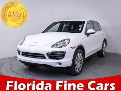 Used PORSCHE CAYENNE 2013 WEST PALM S