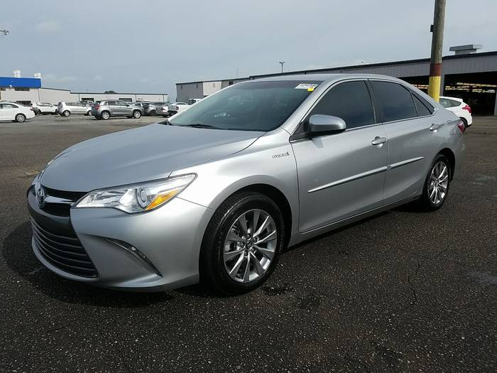 Used TOYOTA CAMRY 2015 WEST PALM XLE HYBRID